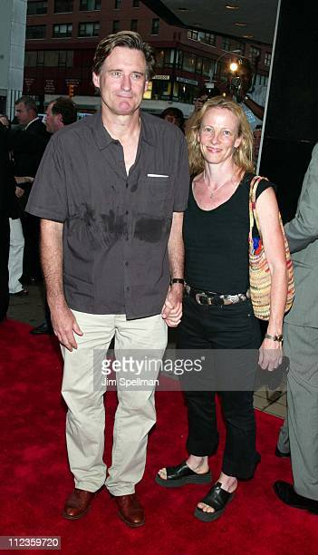 Bill Pullman wife Tamara Hurwitz during 'Tadpole' Premiere New York at Cinema 2 in New York City New York United States