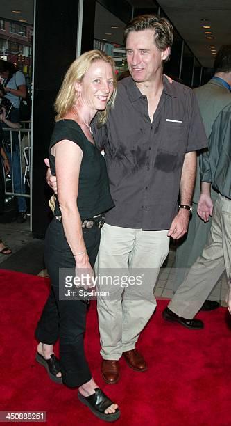 Bill Pullman wife Tamara Hurwitz during Tadpole Premiere New York at Cinema 2 in New York City New York United States