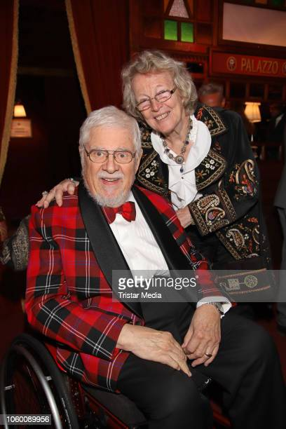 Bill Ramsey and Petra Ramsey during the Cornelia Poletto Palazzo Gala Premiere on November 10 2018 in Hamburg Germany