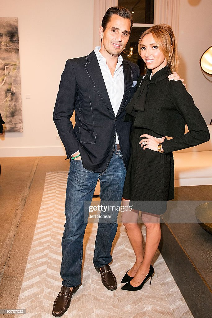 Bill Rancic and Giuliana Rancic attend Restoration Hardware Celebrates The Opening Of RH Chicago - The Gallery At The Three Arts Club at Restoration Hardware on September 30, 2015 in Chicago, Illinois.