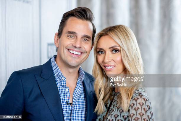 Bill Rancic and Giuliana Rancic visit Build Brunch at Build Studio on October 30, 2018 in New York City.