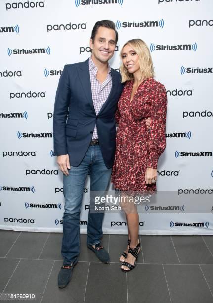 Bill Rancic and Giuliana Rancic visit the SiriusXM Studios on October 29, 2019 in New York City.