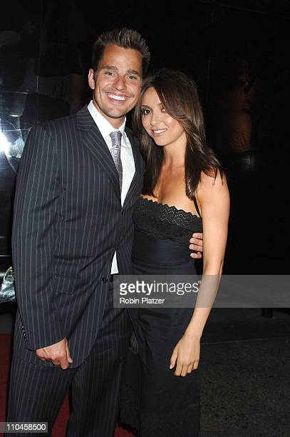 Bill Rancic and new girlfriend Giuliana DePandi during 31st Annual American Women in Radio & Television Gracie Allen Awards - Red Carpet at Marriot...