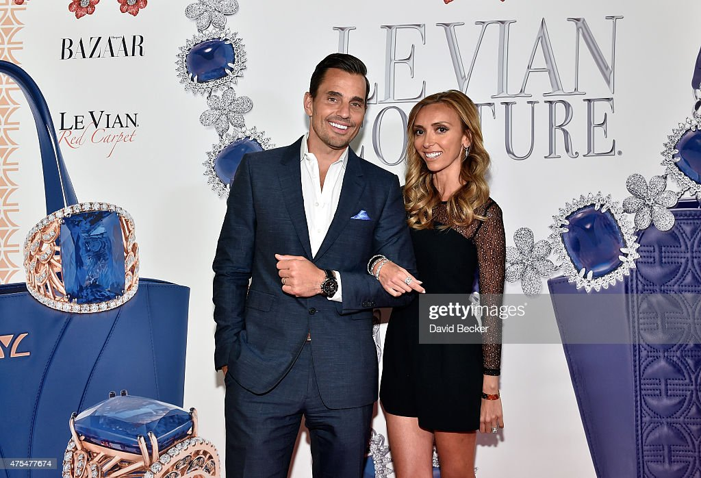 Bill Rancic (L) and television personality Giuliana Rancic arrive at the Le Vian 2016 Red Carpet Revue at the Mandalay Bay Convention Center on May 31, 2015 in Las Vegas, Nevada.