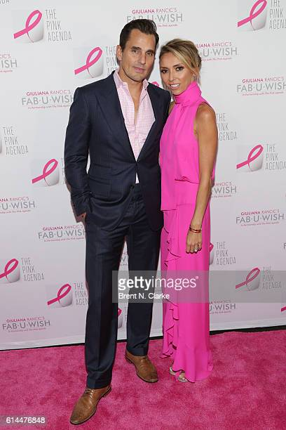 Bill Rancic and television personality/event hostess Giuliana Rancic attend The Pink Agenda's 2016 Gala held at Three Sixty on October 13 2016 in New...