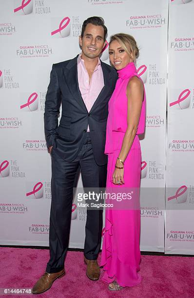 Bill Rancic and TV Personality Guiliana Rancic attend The Pink Agenda 2016 Gala at Three Sixty on October 13 2016 in New York City