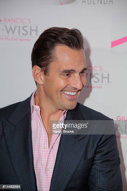 Bill Rancic during The Pink Agenda 2016 Gala arrivals at Three Sixty on October 13 2016 in New York City