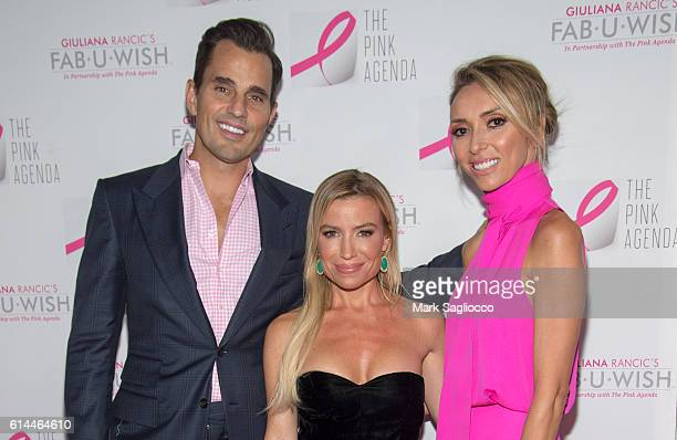 Bill Rancic Fitness/wellness entrepreneur Tracy Anderson and TV Personality Guiliana Rancic attend The Pink Agenda 2016 Gala at Three Sixty on...