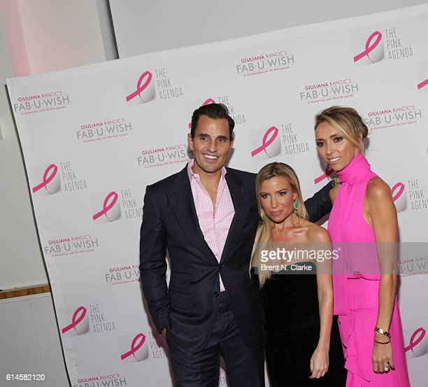 Bill Rancic fitness/wellness expert and Lisa Mae Lee award recipient Tracy Anderson and television personality/event hostess Giuliana Rancic attend...