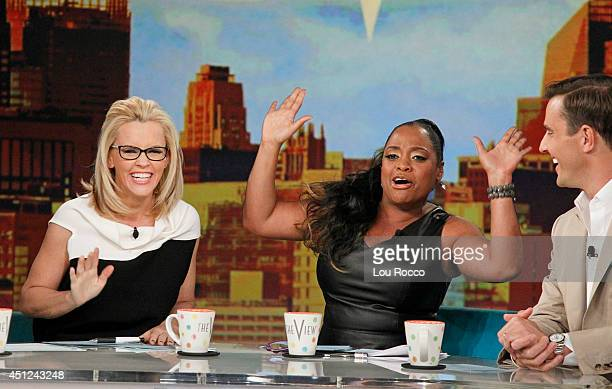 THE VIEW Bill Rancic guest cohosts Tori Spelling and Jennie Garth New Edition performs today Wednesday June 25 2014 on Walt Disney Television via...