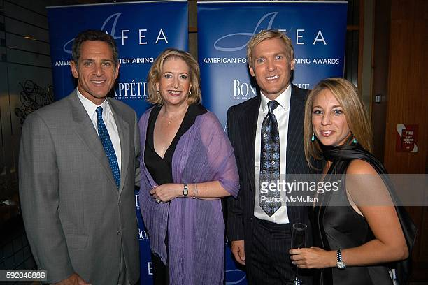 Bill Ritter, Barbara Fairchild, Sam Champion and Lauren Glassberg attend Bon Appetit hosts the American Food and Entertaining Awards 2005 at Le...