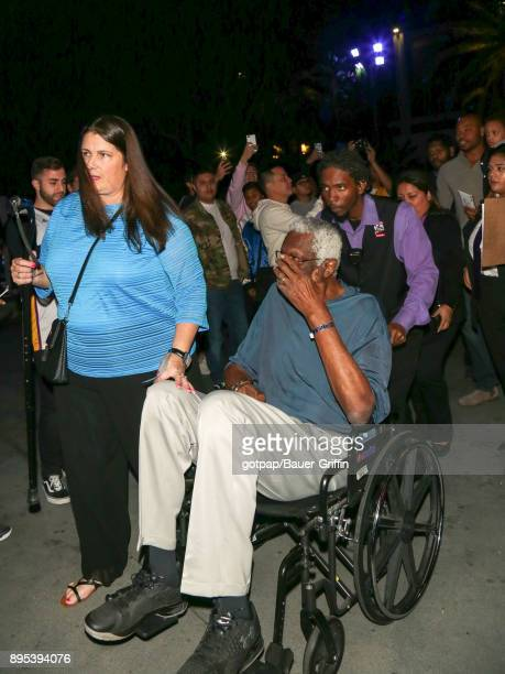Bill Russell is seen on December 18 2017 in Los Angeles California
