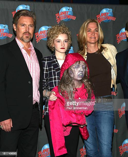 Bill Sage Julia Garner and Kassie DePaiva attend We Are What We Are at Planet Hollywood Times Square on September 24 2013 in New York City