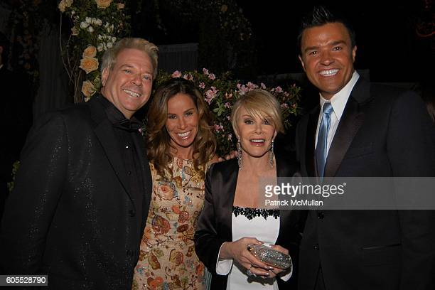 Bill Sammeth Melissa Rivers Joan Rivers and Michael Moloney attend Weinstein Co Golden Globe After Party Inside at Beverly Hilton on January 16 2006...