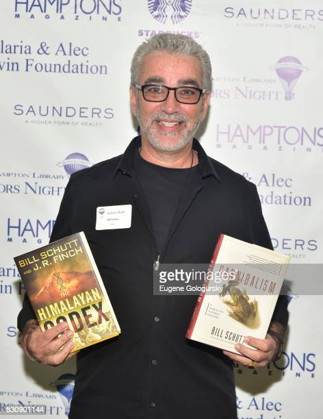 Bill Schutt attends Authors Night 2017 At The East Hampton Library at The East Hampton Library on August 12 2017 in East Hampton New York