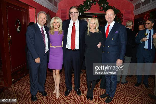 Bill Siegel Monica Crowley Jimmy Finkelstein Pamela Gross and Prince Dimitri of Yugoslavia attend George Farias Anne and Jay McInerney Host A...