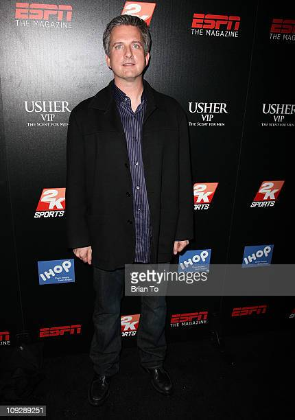 Bill Simmons hosts ESPN The Magazine after dark NBA AllStar party at MyHouse Nightclub on February 18 2011 in Hollywood California