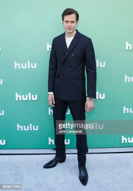 Bill Skarsgard attends 2018 Hulu Upfront at La Sirena on May 2 2018 in New York City
