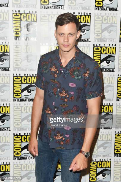 Bill Skarsgard attends Hulu's 'Castle Rock' Press Line during ComicCon International 2018 at Hilton Bayfront on July 20 2018 in San Diego California