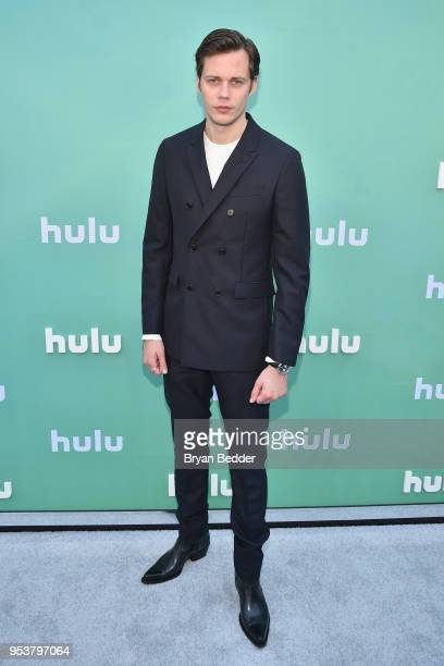 Bill Skarsgard attends the Hulu Upfront 2018 Brunch at La Sirena on May 2 2018 in New York City