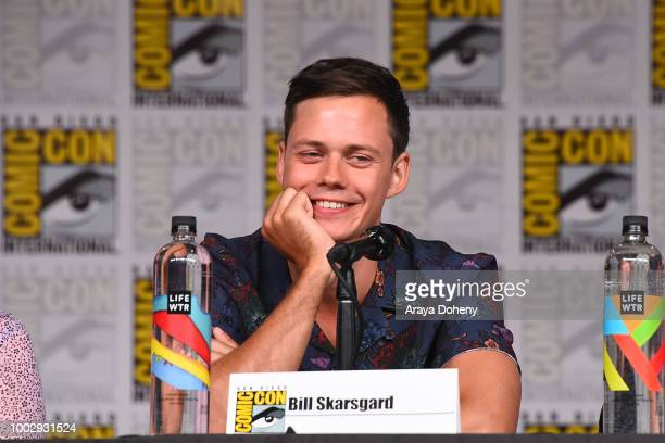 Bill Skarsgard attends the Hulu's Castle Rock panel at ComicCon 2018 on July 20 2018 in San Diego California