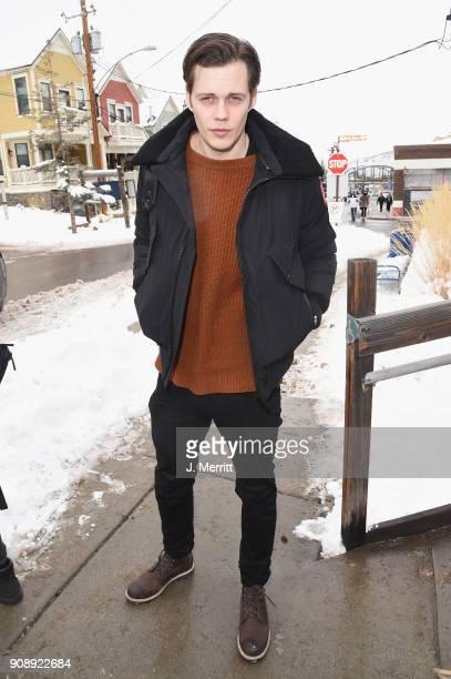 Bill Skarsgard is seen during 2018 Sundance Film Festival in Park City on January 22 2018 in Park City Utah