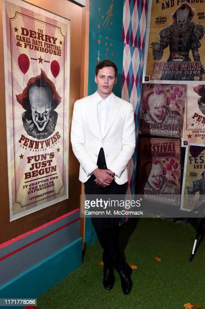 Bill Skarsgård attends the IT Chapter Two European Premiere at The Vaults on September 02 2019 in London England