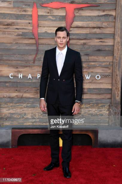 Bill Skarsgård attends the Premiere of Warner Bros Pictures' It Chapter Two at Regency Village Theatre on August 26 2019 in Westwood California