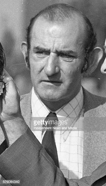 Bill Somers at the scene of the raid on the Drumree Co Meath Post Office in which Detective Garda Frank Hand was killed Photographer Tom Burke...