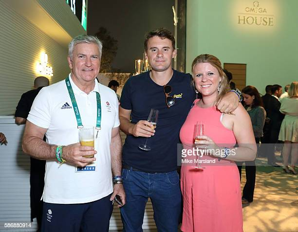 Bill Sweeney Ceo Of British Olympic Association attends the launch of OMEGA House Rio 2016 on August 6 2016 in Rio de Janeiro Brazil