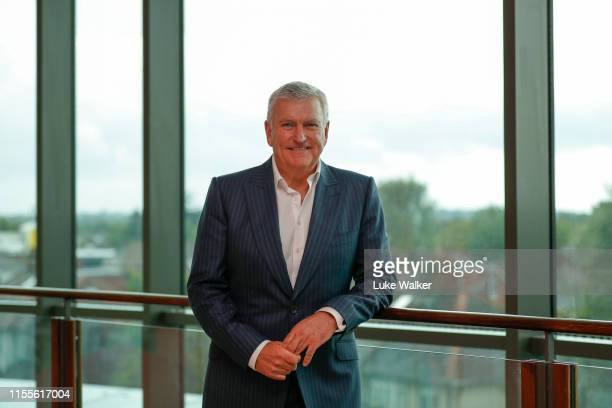 Bill Sweeney RFU Chief Executive Officer poses for a portrait at Twickenham Stadium on June 13 2019 in London England