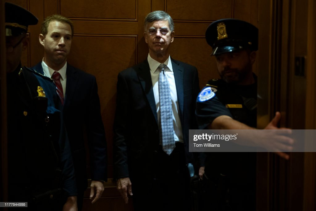 Bill Taylor Deposition : News Photo