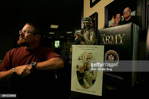 Bill Tessar lost his only brother in Iraq Sgt Jon Tessar died in a roadside explosion on October 31 2005 His death has forced his older brother – the...