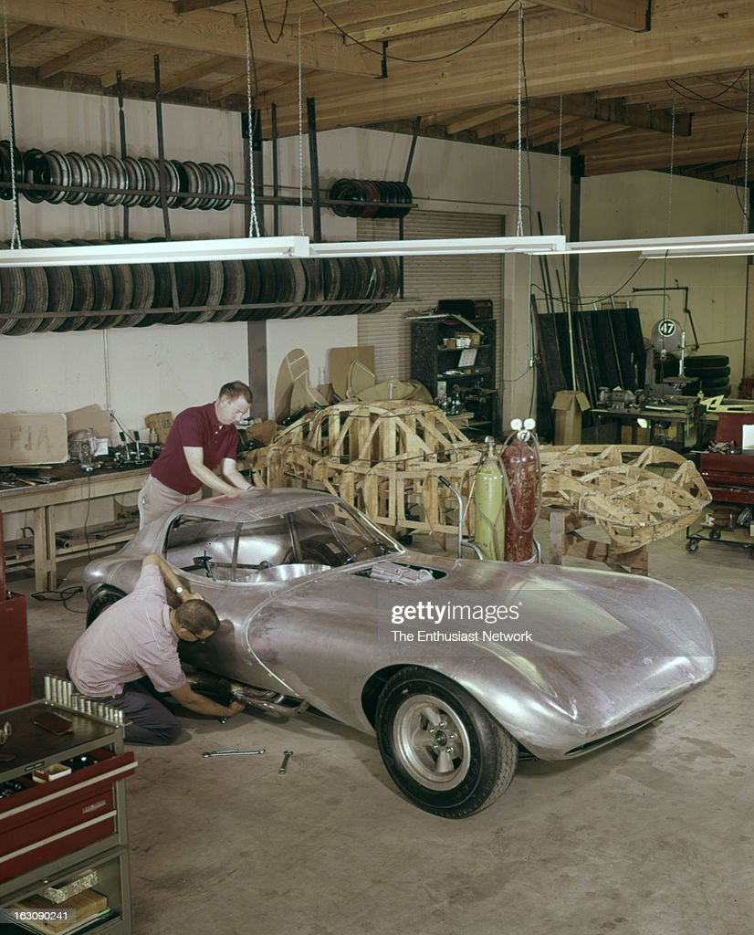 Bill Thomas Chevrolet Cheetah GT Race Car Pictures | Getty Images