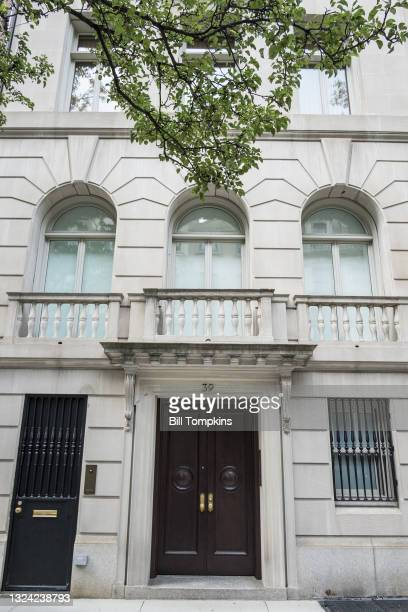 July 1: MANDATORY CREDIT Bill Tompkins/Getty Images 39 East 68th street. Former residence of Roy Cohn who was an American lawyer who came to...