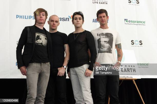 July 7: MANDATORY CREDIT Bill Tompkins/Getty Images AFI on July 7, 2007 in East Rutherford. Live Earth was a one off event developed to combat...