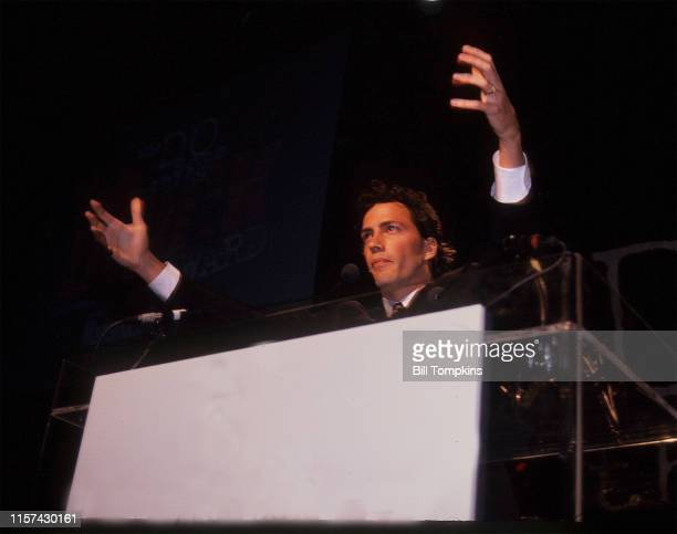 Bill Tompkins/Getty Images Andrew Shue photographed during the DO SOMETHING nonprofit organization which he runs 1998 in New York City