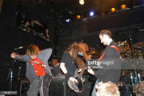 MANDATORY CREDIT Bill Tompkins/Getty Images APT 26 performs on March 12 2004 in New York City