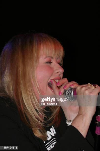 May 19: MANDATORY CREDIT Bill Tompkins/Getty Images Bebe Buell performing during the Joey Ramone Birthday Bash at Irving Plaza on May 19, 2004 in New...
