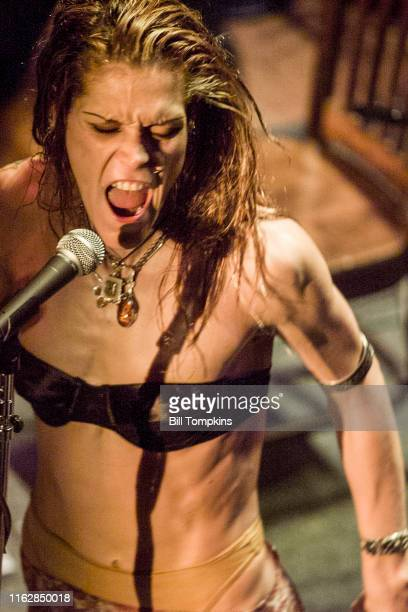 MANDATORY CREDIT Bill Tompkins/Getty Images Beth Hart performing on July 2003 in New York City