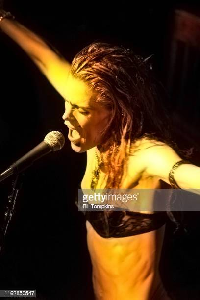 MANDATORY CREDIT Bill Tompkins/Getty Images Beth Hart performing on July 2003 in New York City in New York City