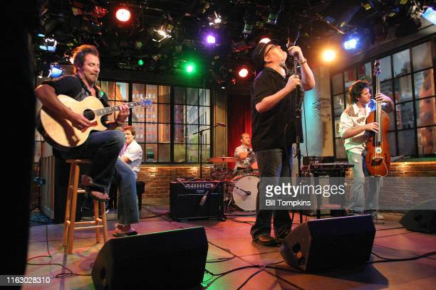 Bill Tompkins/Getty Images Blues Traveler performs on a TV program on June 25th 2007 in New York City
