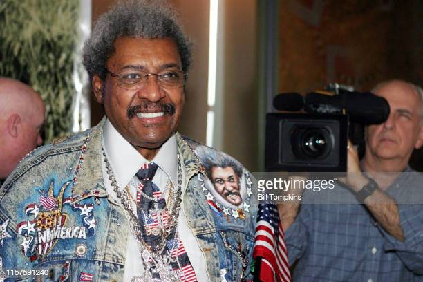 MANDATORY CREDIT Bill Tompkins/Getty Images Boxing promoter Don King on December 5 2006 in New York City