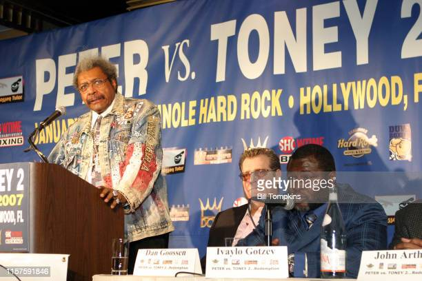 December 5: MANDATORY CREDIT Bill Tompkins/Getty Images Boxing promoter Don King on December 5, 2006 in New York City.