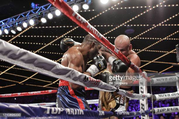 January 25: MANDATORY CREDIT Bill Tompkins/Getty Images Bryant Jennings defeats Artur Szpilka by TKO in he 10th round in their Heavyweight fight at...