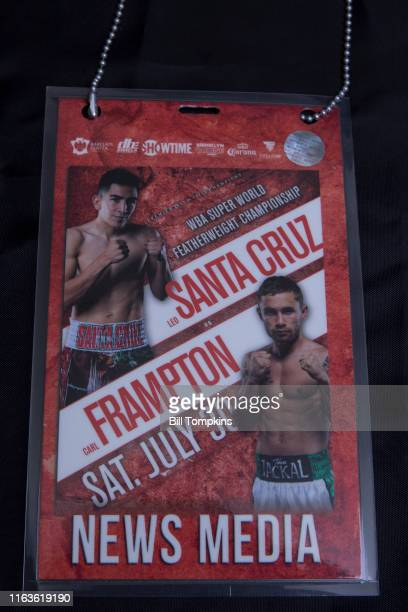 Bill Tompkins/Getty Images Carl Frampton defeats Leo Santa Cruz by Majority Decision during their Featherweight fight on July 30 2016 in New York...