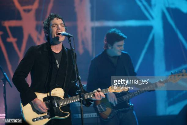MANDATORY CREDIT Bill Tompkins/Getty Images Carole King and Jacob Dylan of The WallflowersnThe Oxygen Channel presents The Wallflowers Custom concert...