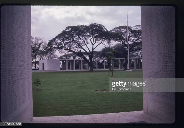 August 2: MANDATORY CREDIT Bill Tompkins/Getty Images Cemetary. August 2nd, 1988 in Manila.