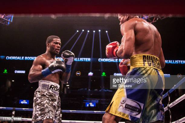 October 14: MANDATORY CREDIT Bill Tompkins/Getty Images Chordale Booker defeats Malcolm McAllister by Unanimous Decision in their Super Welterweight...