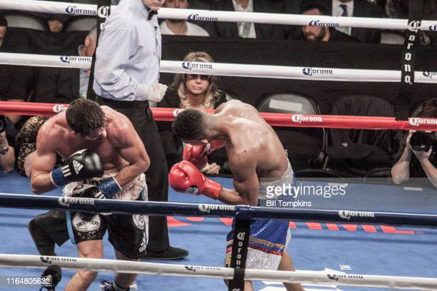 Bill Tompkins/Getty Images Chris Algeri defeats Erick Bone by Unanimous Decision in their Welterweight bout on December 5, 2015 in Brooklyn.